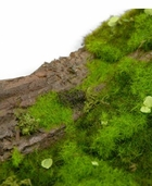 Faux Tree Bark with Moss