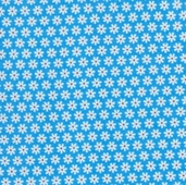 Feeling Groovy Flannel Fabric - Blue