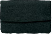 Felted Clutch Purse - Black