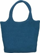Felted Tote - Denim - Clearance