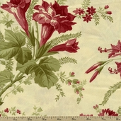 Field Notes Floral Cotton Fabric - Cream 2712-11