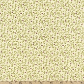 Field Notes Holly Floral Cotton Fabric - Cream 2715-21