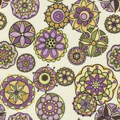 Fiona's Fancy Cotton Fabric - Orchid