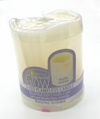 Flameless Candle 4 in: Vanilla Scented