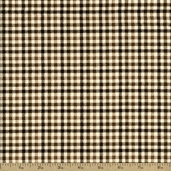 Flannel Elements Cotton Fabric - Brown #31614-4