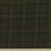 Flannel Elements Cotton Fabric - Green #31610-5