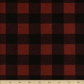 Flannel Elements Cotton Fabric - Red #31606-3