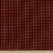 Flannel Elements Cotton Fabric - Red #31609-3
