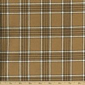 Flannel Elements Cotton Fabric - Tan #31610-4