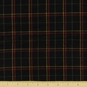 Flannel Yarn Dye II - Plaid - Black