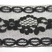 Flexi-Lace Hem Tape Facing - Black