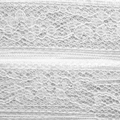 Flexi-Lace Hem Tape - White