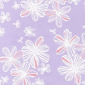 Flitter Flannel Cotton Fabric - Garden