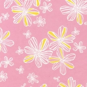 Flitter Flannel Cotton Fabric - Spring