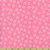 Flitter Flannel Flower Fabric - Summer AMNF-10336-193