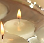 Floating Candles - Ivory  1-3/4 inch 20 pk