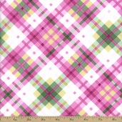 Flora Cotton Fabric - Pink FLORA-C1073-PINK