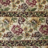 Floral Upholstery Fabric - 60 inch - Multi Color - Clearance