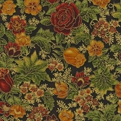 Florentine 3 Cotton Fabric - Earth