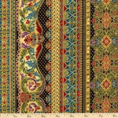 Florentine 3 Cotton Fabric - Jewel APTM-11513-201 JEWEL