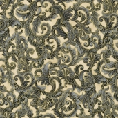 Florentine 3 Cotton Fabric - Pewter