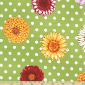 Flower Shop Cotton Fabric - Bright