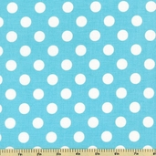 Flutter Dot Cotton Fabric - Blue C3135
