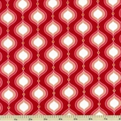 Flutter Petals Cotton Fabric - Red C3133