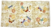 Fluttering Wings and Colorful Things Cotton Fabric - Craft Panel