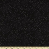 Folio Cotton Fabric - Floral Texture - Black 7755-99