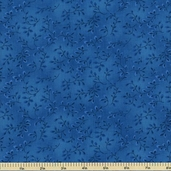 Folio Cotton Fabric - Floral Texture - Blue 7755-71