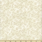 Folio Cotton Fabric - Floral Texture - Cream 7755-4