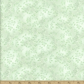 Folio Cotton Fabric - Floral Texture - Mint 7755-6