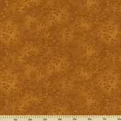 Folio Cotton Fabric - Floral Texture - Ochre 7755-33