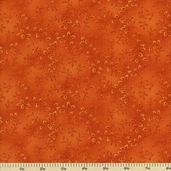 Folio Cotton Fabric - Floral Texture - Orange 7755-36