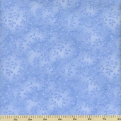 Folio Cotton Fabric - Floral Texture - Periwinkle 7755-11