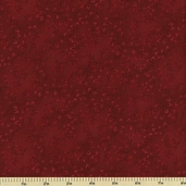 Folio Cotton Fabric - Floral Texture - Red 7755-88