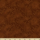 Folio Cotton Fabric - Floral Texture - Rust 7755-35