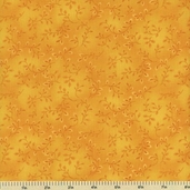 Folio Cotton Fabric - Floral Texture - Yellow 7755-34