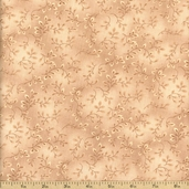 Folio Flora Texture Cotton Fabric - Tan