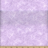 Folio Floral Texture Cotton Fabric - Amethyst