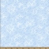 Folio Floral Texture Cotton Fabric - Light Blue