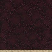 Folio Floral Texture Cotton Fabric - Violet