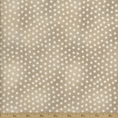 Folk Art Home Dot Cotton Fabric - Taupe