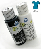 FolkArt Fabric Paint Azure Blue