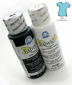 FolkArt Fabric Paint Coastal Blue
