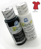 FolkArt Fabric Paint Engine Red