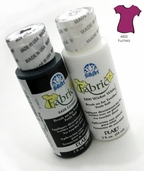 FolkArt Fabric Paint Fuchsia - Clearance