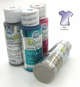 FolkArt Fabric Paint Metallic Amethyst - Clearance