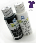 FolkArt Fabric Paint Red Violet  - Clearance